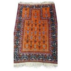 New Arrival 50% OFF Classic Caucasian 1920's Vintage Kazak Prayer Rug (OTH10323)