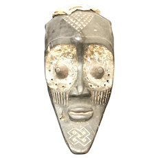 Rare Antique Ceremonial Tribal Mask From Dan People of Africa (OTH10329)