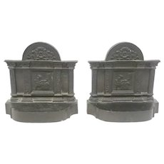 30% Off Intro Special EXTENDED! East Lake Greco Roman Bronze Bookends (OTH10353)