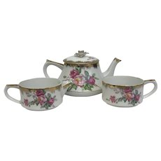 30% Off intro Special EXTENDED! Vintage Napco Floral Ceramic Breakfast Set (OTH10359)