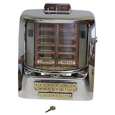30% Off Intro Special Vintage Circa 1958 Seeburg Wall-O-Matic 160 Wallbox with Original Key (OTH10373)