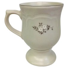 Vintage Circa 1948 Pfaltzgraff Heirloom 4 3/4 inch Pedestal Mugs 12 Available! (OTH10450)
