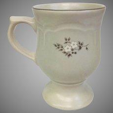 Vintage Circa 1948 Pfaltzgraff Heirloom 4 3/4 inch Pedestal Mugs 12 Available! (OTH10450)