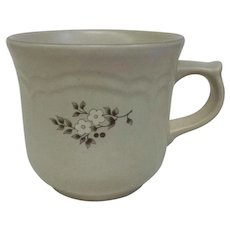 Vintage Circa 1948 Pfaltzgraff Heirloom Mugs Ceramic 3 1/4 inches tall, 11 Available! (OTH10451)