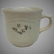Vintage Circa 1948 Pfaltzgraff Heirloom Mugs Ceramic 3 1/4 inches tall, 11 Available! (OTH10451)