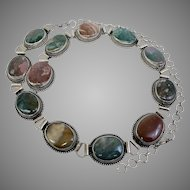 Agate Southwestern Belt, Concho Style, Up to 44 inches long (OTH10482)