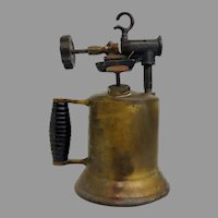 Antique Lenk Manufacturing Co. Blowtorch Circa 1920's (OTH10530) Works, Great Steampunk Item