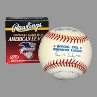 Don Larsen (Perfect Game) Signed Baseball at Hall of Fame Ceremony, Original Box (OTH10551)   on SALE Thru 12-03-2020