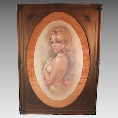 50% OFF SALE: Leo Jansen female nude #42655 by iconic Playboy painter (ART10034)
