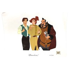 """Anastasia"" Animation Cel 20th Century Fox Ltd Edition"