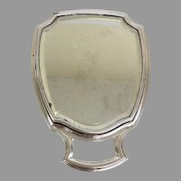Vintage 1950's Sterling Silver Travel/Dresser Mirror (SS10362)