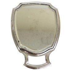Vintage 1950's Sterling Silver Travel/Dresser Mirror (SS10362)