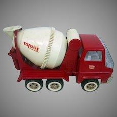 Vintage 1960's Tonka Mighty Mixer Red and White (TONTRU10003)