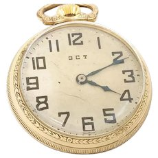 VALENTINES SALE 40% OFF: Vintage Pocket Watch 1942 Hamilton 4992B 10kt Gold Filled, 22 jewels, 16s Accurate & Running  WAT10135