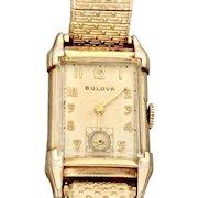 Vintage 1947 Man's Bulova 21 Jewels Gold-Filled Wrist Watch (WAT10149)