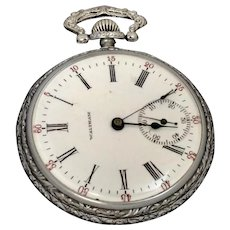 Vintage Waltham Sidewinder Pocket Watch, 16S 15 Jewel, Circa 1904 (WAT10159) - Red Tag Sale Item