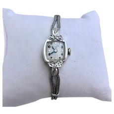 Estate Vintage La Petite 23 jewel Bulova Ladies Wrist Watch Circa 1959 WITH BOX (WAT10194)