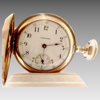 Beautiful Waltham Ladies Hunter's Case Pocket Watch, 7 Jewels, , Circa 1903 Can be worn as a pendant (WAT10235)