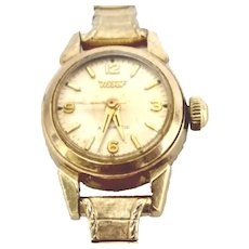 """Vintage Tissot Ladies Automatic Gold Filled Circa 1955 (WAT10238) """"Very Accurate, Running and Clean"""" on SALE thru Thursday, 12-19-19"""