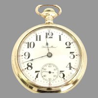 Antique Hamilton 940 Railroad Grade 21 jewel 18s, Lever set Pocket Watch Circa 1899(WAT10302) Running and Accurate