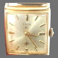 Vintage Men's Elgin Wristwatch, Circa 1947 17 jewels(WAT10329)Serviced, Running and Accurate. on SALE thru 4/29/2021