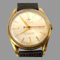 Vintage Man's Waltham Wrist Watch, 17 jewels, Automatic self winding,Circa 1959(WAT10331) Accurate and Running on SALE Thru 12-03-2020