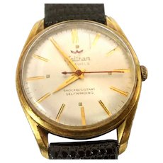 Vintage Man's Waltham Wrist Watch, 17 jewels, Automatic self winding,Circa 1959(WAT10331) Accurate and Running