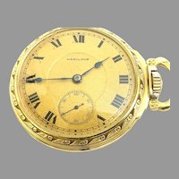 Antique Rare Hamilton 993 Railroad Grade Pocket Watch 21 jewels, 16s, Sidewinder, Circa 1913 (WAT10352) Accurate, Running and Serviced