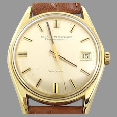 Girard-Perregaux Chronometer HF 39 Jewels Gyromatic Circa 1960's(WAT10375) Rare Masterpiece of a watch Running Serviced and Very Accurate.