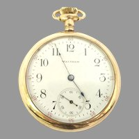 Antique Rare Waltham Gold Filled Pocket Watch 17j 16s Circa 1907 (WAT10379) Rare, Serviced and Running Accurately