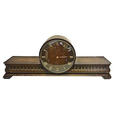 Beautiful Art Deco Junghans Mantle Clock W64 Model with Westminster Chime Circa 1930s Junghans Mantle Clock circa 1936(WAT10380) Working and Beautiful Chimes with Key.
