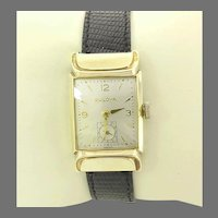 Vintage Bulova Fifth Avenue 17 jewels Swiss Manual Wind Wrist Watch 10kt gold filled Circa 1950(WAT10382) Serviced, Accurate and Keeping Time. RARE!