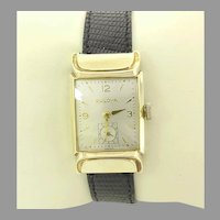 Vintage Bulova Fifth Avenue 17 jewels Swiss Manual Wind Wrist Watch 10kt gold filled Circa 1950(WAT10382) Serviced, Accurate and Keeping Time. RARE! on SALE Thru 12-03-2020