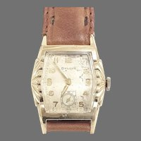 Vintage Bulova L5, 17 jewels, Art Deco Wrist Watch Circa 1955 (WAT10387)Serviced and Running Accurately
