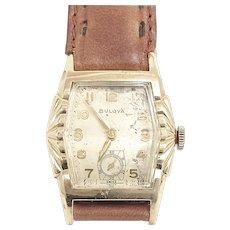 Vintage Bulova L5, 17 jewels, Art Deco Wrist Watch Circa 1955 (WAT10387)Serviced and Running Accurately on SALE Thru 12-03-2020