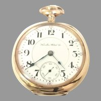 Antique Scarce Hamilton 940, 18s, 21 Jewel Gold Filled Railroad Grade Pocket Watch Circa 1904(WAT10395) Running and Accurate on SALE Thru 12-03-2020