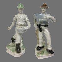 "Rare Dresden Porcelain ""Farmers"" (OTH102031)"