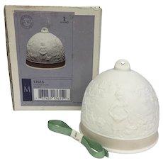 """Elegant Lladrò """"Fall Bell"""" Ornament **With Box** (OTH10235)"""