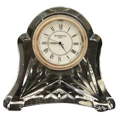 """Stunning Clear Irish Crystal Glass Waterford Clock """"Movement France"""" (OTH10271)"""