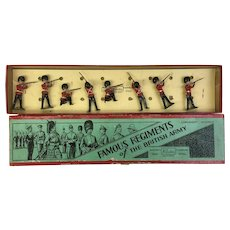 "RARE W. Britain ""Famous Regiments of The British Army""  toy soldiers (OTH10288)"