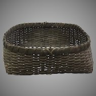 Beautiful White Oak Handmade Basket (OTH10307)