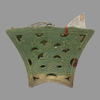 Elegant and Authentic Vintage Chinese Chopstick Holder (OTH10309) on SALE Thru 12-17-2020