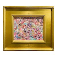 """""""Abstract Expressionist Impasto Palette"""", Original Oil Painting by artist Sarah Kadlic."""