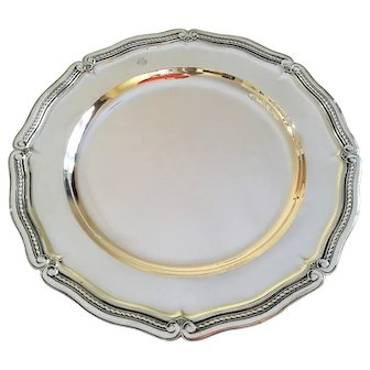 "Tiffany and Co 13 1/4"" Sterling Silver Platter #2"