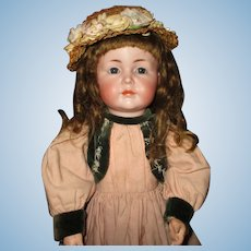 """21"""" Antique Kammer & Reinhardt Character Doll Model # 117/A, 2 Costumes"""