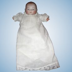"""8 1/2"""" Antique Grace S. Putnam Bye-Lo Baby Doll - Great Size"""