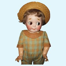 "14"" Antique Adorable Kestner # 221 Googly With Toddler Body"