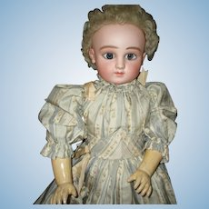 "21"" Antique C Series Steiner Doll With Wire Eyes"