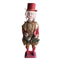 "25"" All Original Jumeau Marquis Mechanical Musical Doll AS IS"