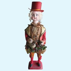 "25"" All Original Jumeau Marquis Mechanical Musical Doll AS IS"